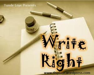 Write Right
