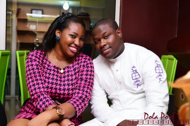 Stacy and Tunde Leye