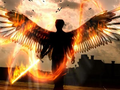 angel-with-flaming-fiery-sword-photoshop