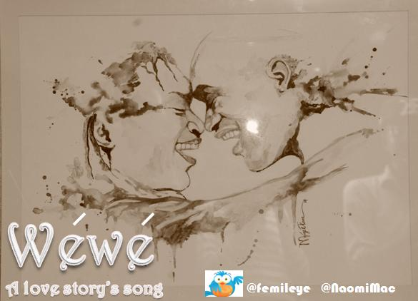 Wewe Song Poster